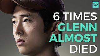 The 6 Times The Walking Dead's Glenn Rhee ALMOST died