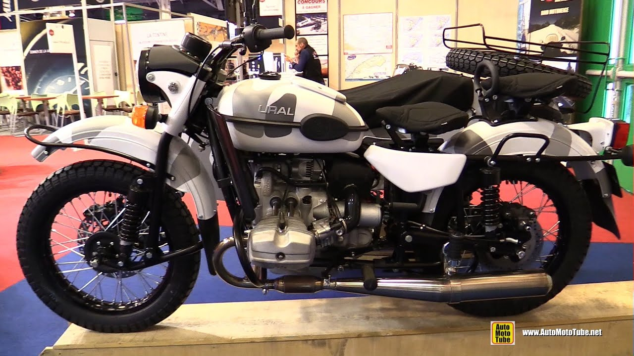2016 ural ranger with 2wd side car russian bike walkaround 2015 salon de la moto paris youtube. Black Bedroom Furniture Sets. Home Design Ideas
