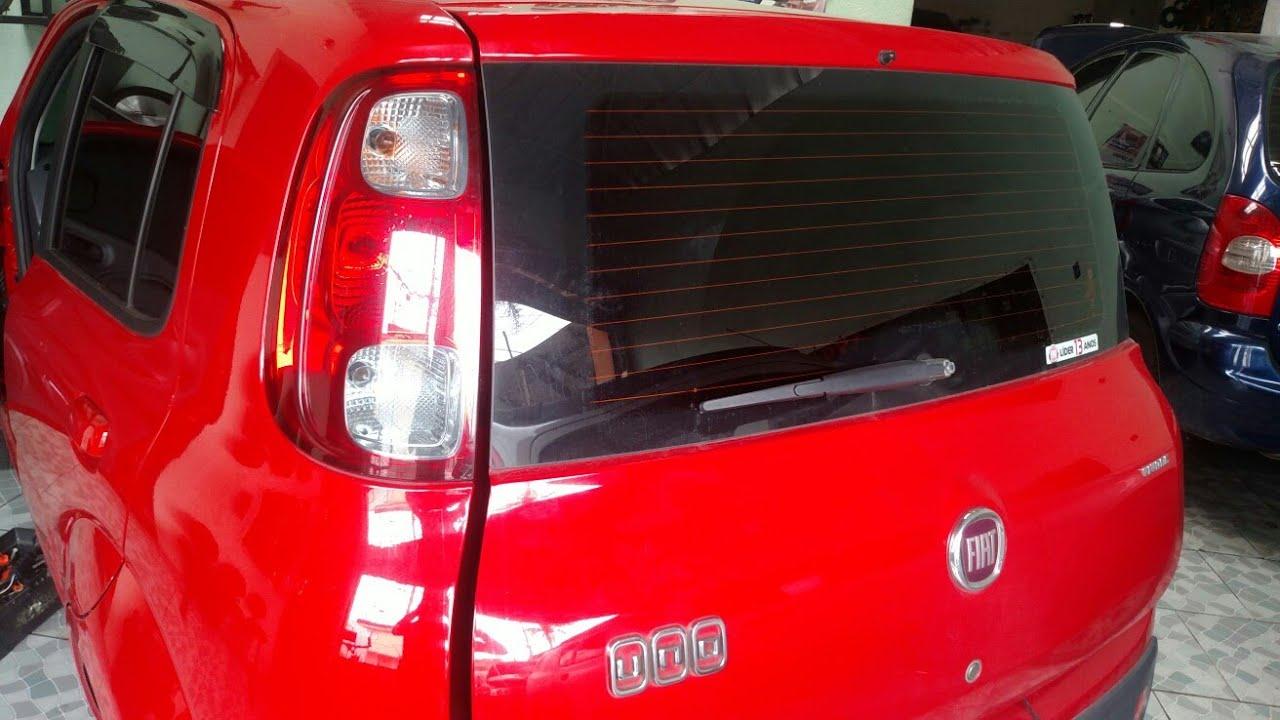 17f040d52 Vgsound - lanterna traseira Fiat Uno 2014 - YouTube