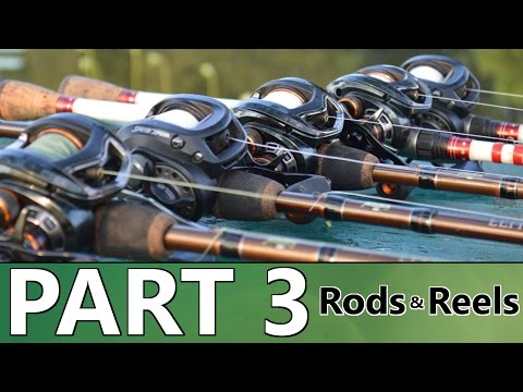 Beginner's Guide To BASS FISHING - Part 3 - Rods And Reels