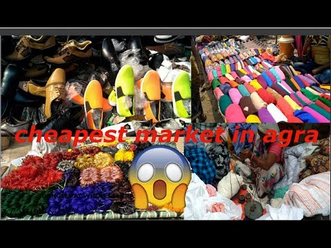 cheapest market of agra || mainly for girls