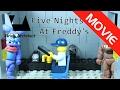 Lego fnaf Movie Parody - Lego Five Nights at Freddy's Funny Parody - Lego FNAF Stop Motion Movie
