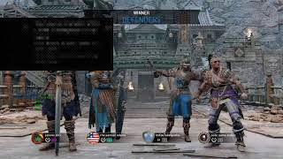 For Honor grinding  my Hero's to Reputation 1 [Ps4 Player] [No Talking] #Ps4Live