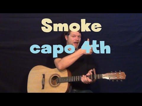 Smoke (Florida Georgia Line) Easy Guitar Lesson How to Play Tutorial