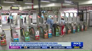 Who is being arrested for fare evasion? Lawsuit aims to force NYPD to release stats
