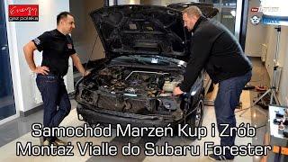 TVN TURBO! Samochód Marzeń Kup i Zrób - Subaru Forester 2.0 Turbo montaż LPG Vialle Wtrysk Ciekły