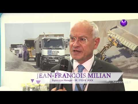 JEAN-FRANCOIS MILIAN - Exploration Manager - SR STEVIN ROCK \ The Mining Show 2018