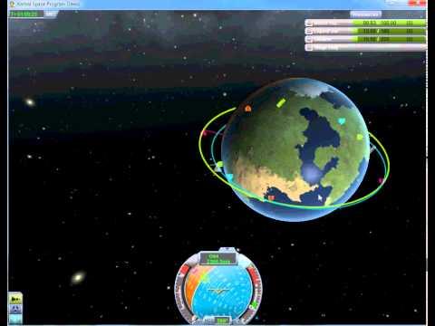 KSP Tutorials 4 - Docking / Orbit Matching
