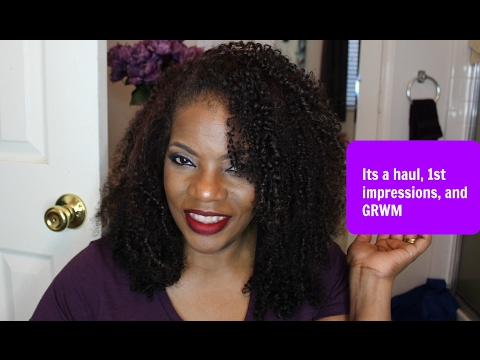Grwm featuring Iman luxury concealer foundation/Haul/1st impressions