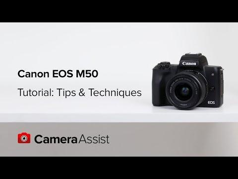 佳能(Canon) EOS M50 連EF-M 15-45mm f/3.5-6.3 IS STM鏡頭套裝 相關視頻