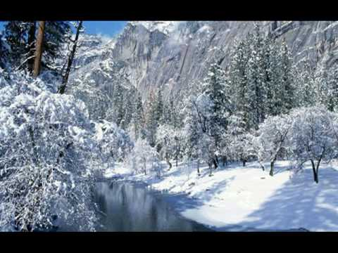 and winter came. Enya.  with winter scenes.  wide screen.
