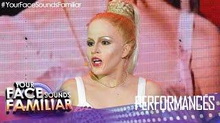 "Your Face Sounds Familiar: Melai Cantiveros as Madonna - ""Papa Don"
