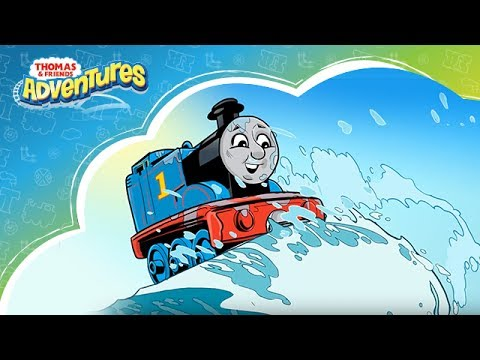 Thomas & Friends Indonesia: Thomas Adventures - Petualangan di Laut Bersama Ikan Hiu