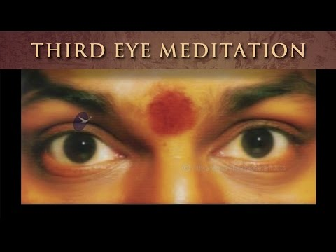 Third Eye Meditation: most ancient, authentic, and powerful meditation guided by Nithyananda
