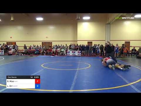 2018 Marine Corps US Open/Masters D Greco Roman 78 Con Semis - Bruce Moe (BWC) Vs. Louis Orr (Warr