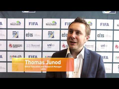 Thomas Junod, UEFA Senior Education and Research Manager