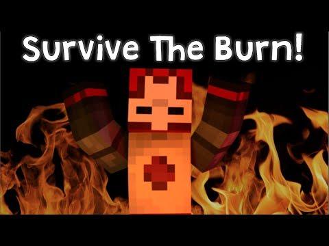Survive The Burn! | Minecraft Custom Map!