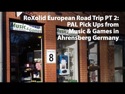 An American Retro Gamer in Germany Part 2: PAL Game Pick Ups Visiting Music & Games in Ahrensberg