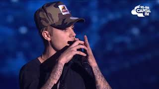 Justin Bieber love yourself live (jingle bell ball)