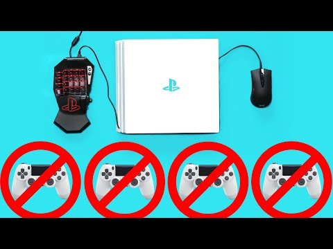 New PS4 Keyboard and Mouse Controllers