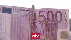 Der kleine Abschied vom 500-Euro-Schein | n-tv