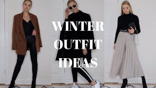 WINTER OUTFIT IDEAS | DECEMBER STYLING