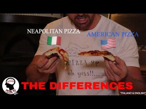 NEAPOLITAN PIZZA & AMERICAN PIZZA (THE DIFFERENCES)
