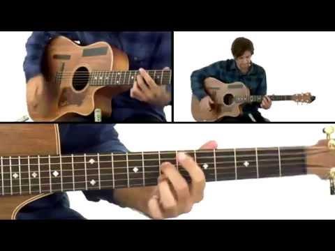 Percussive Fingerstyle - #21 Pendulum - Guitar Lesson - Daniel Champagne