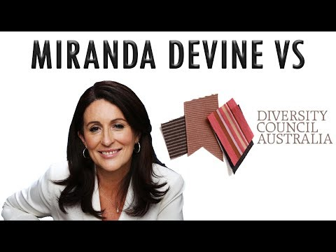Miranda Devine vs Diversity Council Australia
