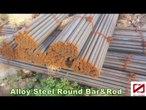 Cold Drawn Alloy Steel Round Bar & Rod