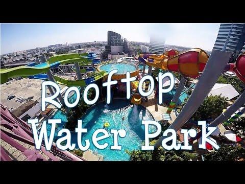 Rooftop Water Park Thailand สวนน้ำ (Pororo)