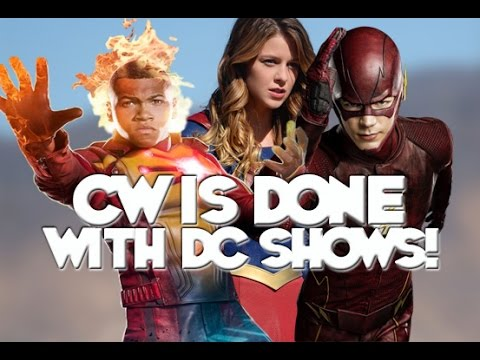 CW Is Done With DC Shows! - Lets Talk!