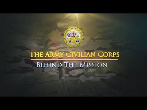 The Army Civilian Corps – Behind the Mission