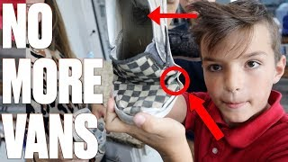 THIS IS WHY WE WON'T BUY OUR KIDS VANS SHOES | SHOE SHOPPING SHOES HAUL