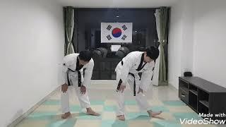 Clases de Taekwondo por parte de instructores del Ejército de Corea