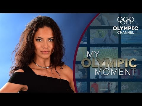 Supermodel Adriana Lima's Emotional Olympic Moment  My Olympic Moment
