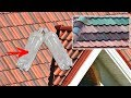 Roofing Tiles slate made of plastic bottles and cellophane bags | Polymer roofing sand shingles