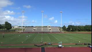 One hour before the 2 p.m. kickoff at Vidinha Stadium, the sky is a...