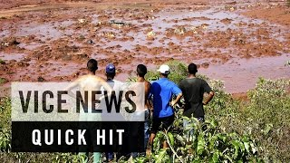 Dozens Missing Following Brazil Dam Collapse: VICE News Quick Hit