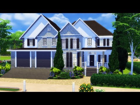 Wisteria House | FAMILY HOME | Speed Build | The Sims 4 CC