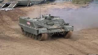 Динамический показ бронетехники МВТФ Армия 2018 / Dynamic display armored vehicles Forum Army 2018