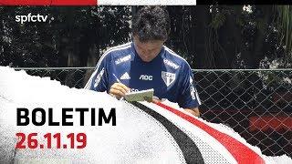 BOLETIM DE TREINO: 26.11   SPFCTV