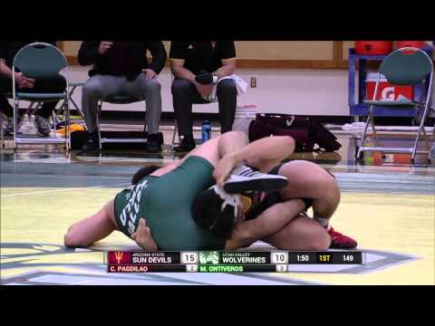 NCAA Wrestling: Arizona State University at Utah Valley University