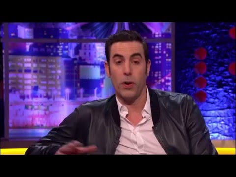 Sacha Baron Cohen on The Jonathan Ross   13th Feb. 2016