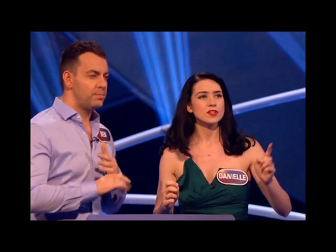 Danielle Hope & Ben Forster on 'Pointless Celebrities' (May 2017)