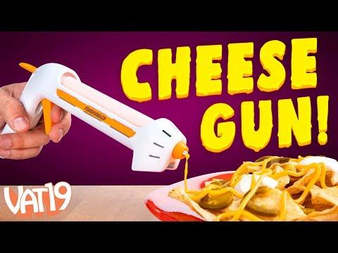 FINALLY! A Hot Glue Gun for Cheese! [Fondoodler]