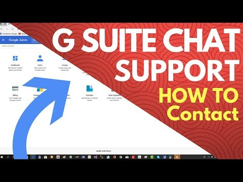 How To Contact G Suite Support Chat In Google