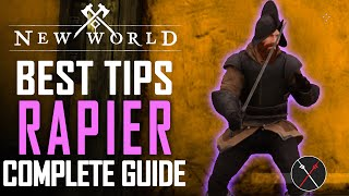 New World Rapier Weąpon Guide and Gameplay Tips - Best Skills & Abilities