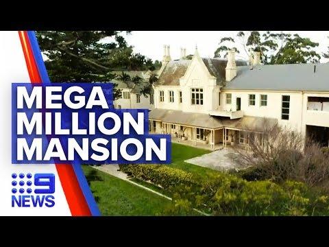 Melbourne mega-million mansion on the market | 9 News Australia