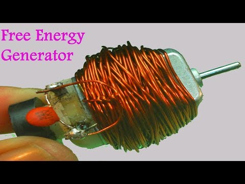 How to make 100% free energy generator without battery with the help of Copper wear | home invention